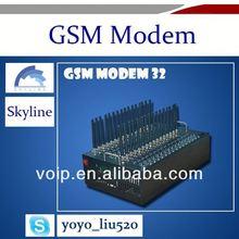 Bulk sms modem 32 channels Wavecom GSM Modem mini gps gsm module