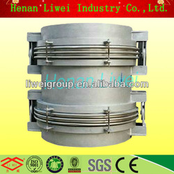 hinged balanced pressure double bellows expansion joint