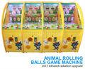 los niños de interior de atracciones arcade juegos monedas de la máquina