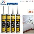 La eliminación de adhesivo de silicona, sellador acrílico, la pintura de emulsión