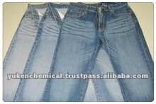 Polyurethane protecting agent ; Protect elasticity of polyurethane fiber in stretch denim while bleaching. YUKEN PACK A