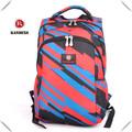 nuevo estilo de la escuela superior uno de promoción mochila para portátil con correa de ajuste