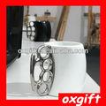 Oxgift promtional presente novidade metálico- manipulados cerâmica punho copo/caneca