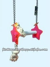 Fun and Healthy Bird Toy - Swing