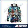 Novo estilo de sublimação personalizado camisolas/hoodies