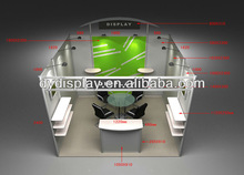 2013 trade fair exhibition stand design/fasion modular exhibition stand design