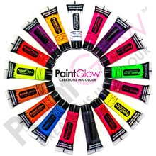 PaintGlow - Neon/UV Face & Body Paint - Uv Body Paint - Fluorescent Face Paint