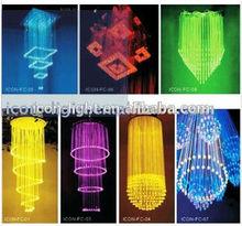 RGBW chandelier Fiber optic light
