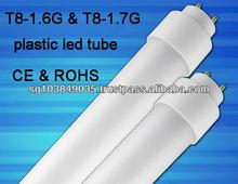 one end power supply T8 led tube light N