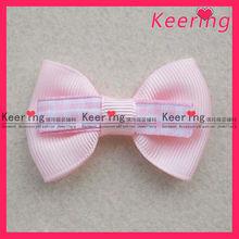 Cut pink girl ribbon bow WFL-005
