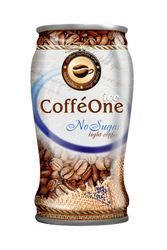 Canned Coffee Drink No Sugar