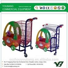 Hot Style Children Shopping Trolley/children Shopping Cart For Supermarket