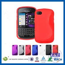 C&T SoftGel Flexible TPU Case for Blackberry Q10 Smart Phone