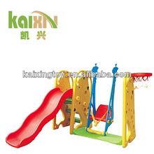 Children Toy Outdoor Plastic Giraffe Slide Swing