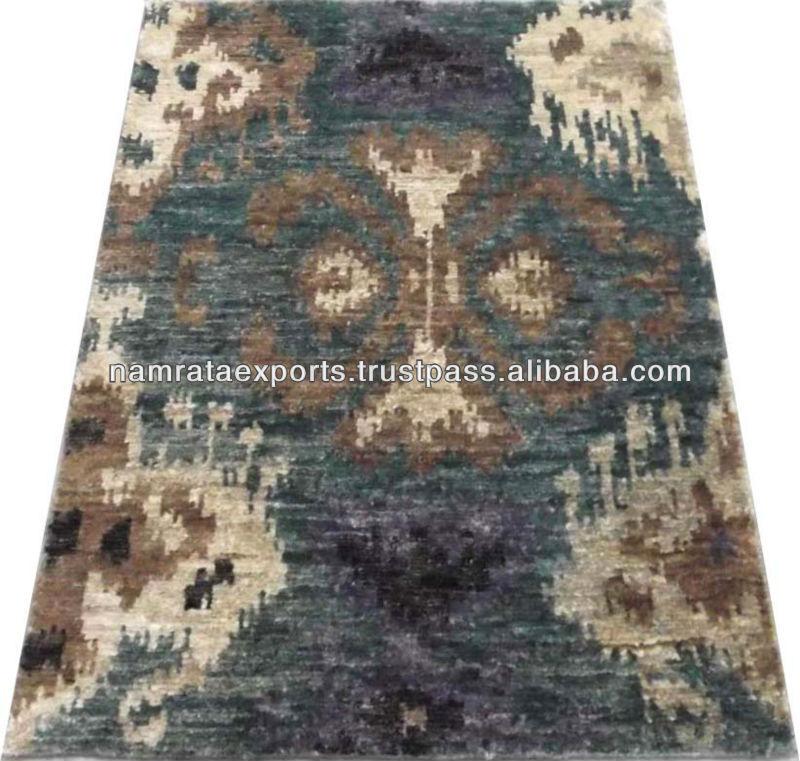 ikat design handgeknüpften teppich hanfandere häusliche
