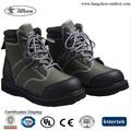 Hombres no- deslizamiento botas de vadeo para los pies, de color verde oliva