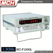 gps receiver dual frequency MCH HC-F1000L Digital Frequency Counter 1KHz 10Hz - 1000MHz Maxi 1.3GHz