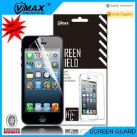 Self repair screen protector for iPhone 5 oem/odm (High Clear)