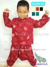 Thai Boy & Girl cotton children's clothing elephant design