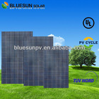 TUV top seller high quality poly 255w chinese solar panel manufacturer