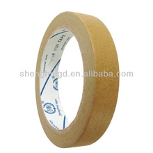 Decorative Paper Brown Masking Tape with strong adhesive