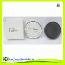 Beeswax polish with high shine effect for leather shoes polishing product care