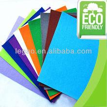 Colorful felt sheet/ felt art & crafts