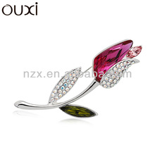 OUXI 2015 wedding brooches for dress Made With Swarovski Elements 60079