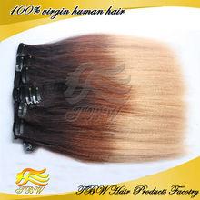 High quality virgin brazilian ombre yaki hair extension whole alibaba china