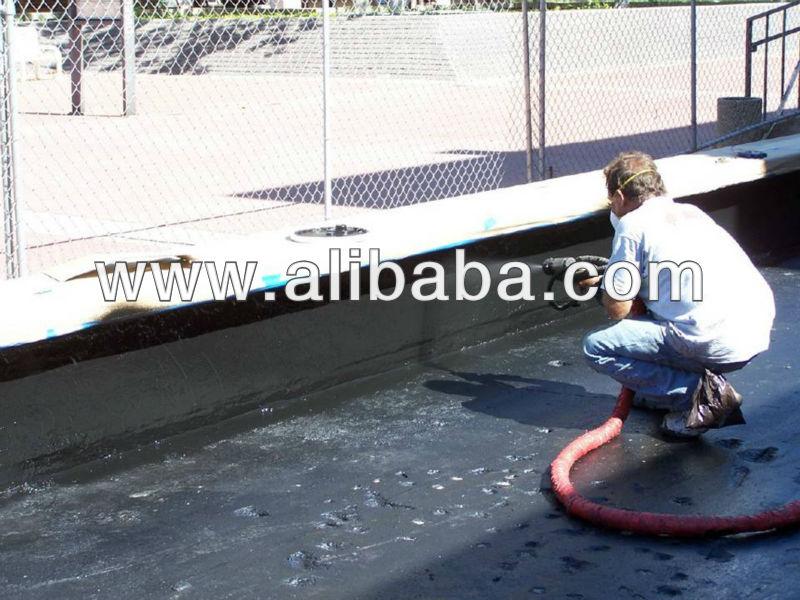 Penatron 1006 Waterproof Slow Set Polyurea Spray Concrete Coating - Waterproof, Elastomeric, Chemical Resistant, 100% Solids