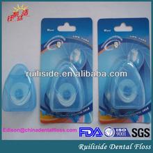 wholesale waxed mint triangle shape dental floss