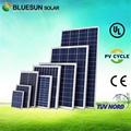 China melhor PV fornecedor bluesun poly 250 watt fotovoltaica painel solar