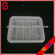Customized disposable supermarket pp tray/ airline Food Trays PP
