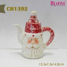 Santa Clause Shape Wholesale Turkish Tea Pot