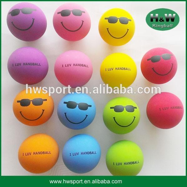 custom high bounce handball for promotion