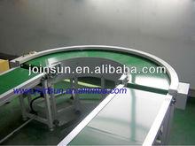 Hot sale! 180 degree looped belt conveyor line/belt transporting system supplier CE