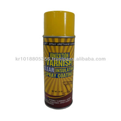 polyurethane clear coat / insulating varnish