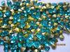 Sky Blue shining pointback crystal stones