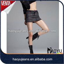 Young girls in short skirt latest school girls short skirt fashion new design sexy korea skirt (HYSK716)