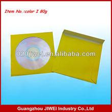 Amarelo de papel cd manga