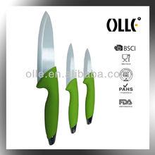 3 Pcs Kitchen Assistant Ceramic Chefs Knives Set