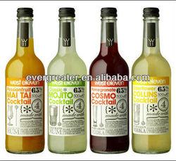 personalized liquor bottle label