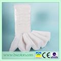 Composent le nettoyage de fibres longues longueur 13-16mm zigzag coton médical