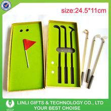 Promotion Gifts Mini Golf Pen Set Supplier