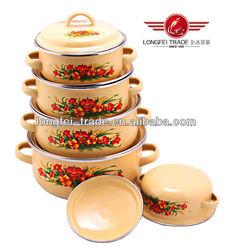 2014 New Design Hot Sale Porcelain Enamel Cookware
