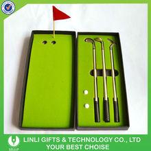 Business Gifts Mini Golf Pen Set Supplier