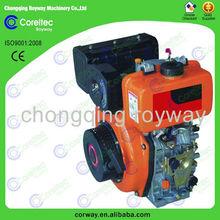 mini popular selling diesel engine/air cooling single cylinder 8 hp diesel engine