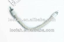 natural cotton rope bird perching