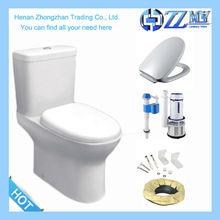 Cheap Ceramic Washdown two piece p trap bathroom toilet
