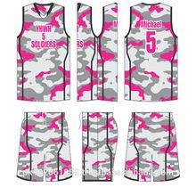 Custom Basketball jersey and short/Custom sublimated basketball uniform